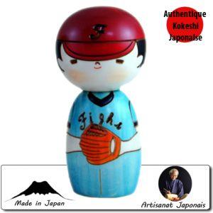 Kokeshi Enfants  Baseball Kun (14cm)