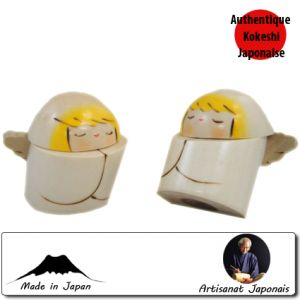 Kokeshi Noel  Angel Set (6cm)