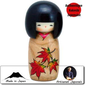 Kokeshi Jeunes filles  Story Of Flower - Momiji (14cm)