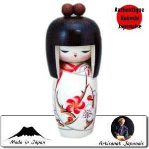 Kokeshi Jeunes filles (+ de 14 cm)  Harunoyume S (16cm)