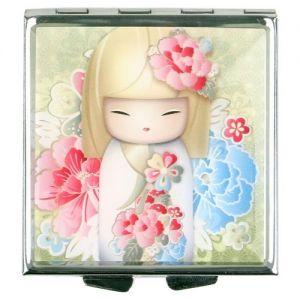 Kimmidoll Accessoires   Ryoko - Miroir De Poche 60*60 - El�gance Kimmidoll