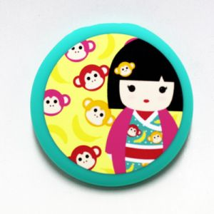Kimmi Junior  Leila - Miroir De Poche 65*65 Kimmi Junior