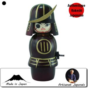 Kokeshi Guerriers  Masamune (13cm)