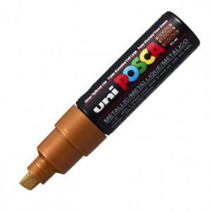 Posca 8mm (large)  Pc-8k Bronze