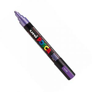Posca 2,5mm (moyen)  Pc-5m Violet Métal