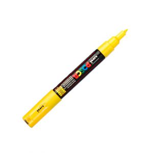 Posca 0,7mm (extra fin) Pc-1mr Jaune