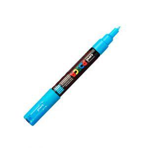Posca 0,7mm (extra fin) Pc-1mr Bleu Métal