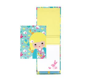 Kimmi Junior  Meika- Carnet Avec Crayon Kimmi Junior