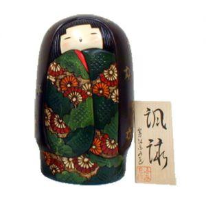 Kokeshi Jeunes filles (+ de 14 cm)  Fuei (24cm)