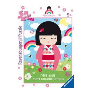 Kimmi Junior  Poppy - Puzzle de 100 Pièces - Kimmi Junior