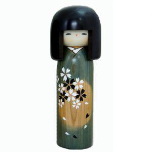 Kokeshi Jeunes filles (+ de 14 cm) Syungetsu (29cm)