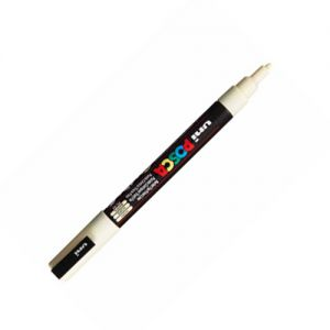 Posca 1mm (extra fin) Pc-1mc Ivoire