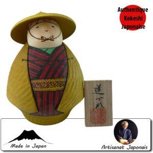 Kokeshi Guerriers  Michizure S (15cm)