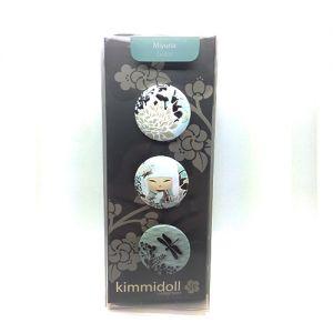 Kimmidoll Accessoires   Miyuna - Set De 3 Badges - Kimmidoll