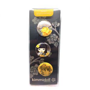 Kimmidoll Accessoires   Naomi - Set De 3 Badges - Kimmidoll
