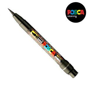Posca 0,1-10mm (pinceau)  Pcf-350 Noir