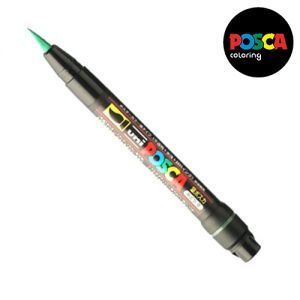 Posca 0,1-10mm (pinceau)  Pcf-350 Vert
