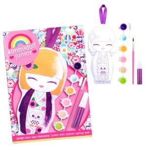 Kimmi Junior  Indigo - Cadre Coton à Peindre - Kimmi Junior