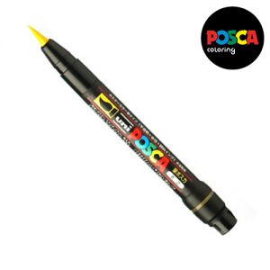 Posca 0,1-10mm (pinceau)  Pcf-350 Jaune