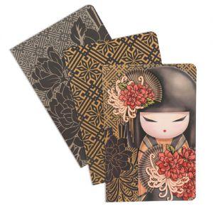 Kimmidoll Accessoires   Tatsuyo - Lot de 3 Carnets Kimmidoll