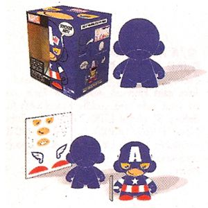 Munny World  Mini Munny Marvel - Captain America (11cm)