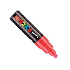 Posca 8mm (large)  Pc-8k Rouge Fluo