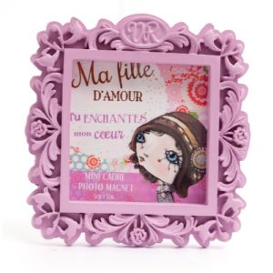 Cadre Verity Rose Mini Cadre Magnet - Ma Fille - Verity Rose