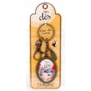 Porte Clé Verity Rose Porte-Clés Charm - Mes Clés - Verity Rose