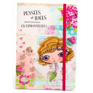 Carnet Verity Rose Carnet A5 - Notes Pensées - Verity Rose