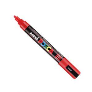 Posca 2,5mm (moyen)  Pc-5m Rouge