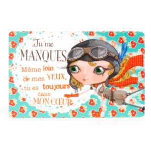 Accessoires Verity Rose  Carte Cadeau - Tu me Manques - Verity Rose