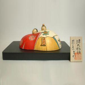 Kokeshi Jeunes filles  Genji (9cm)