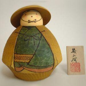 Kokeshi Guerriers  Sanga S (14cm)