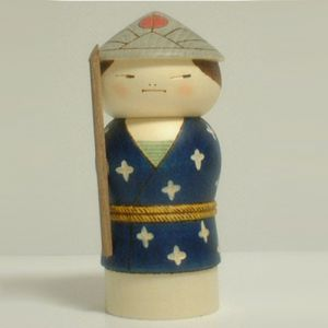 Kokeshi Guerriers  Rudeness (19cm)
