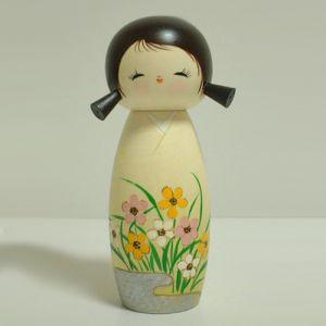 Kokeshi Jeunes filles (+ de 14 cm)  Haru (21cm)