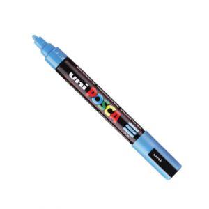 Posca 2,5mm (moyen)  Pc-5m Bleu Clair