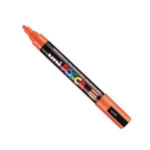 Posca 2,5mm (moyen)  Pc-5m Orange Foncé
