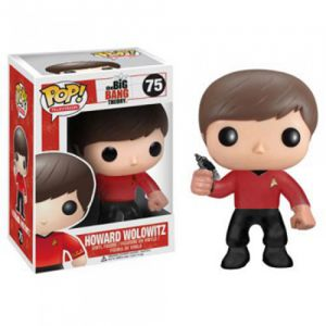Series TV  Howard Star Trek - Big Bang Theory (10cm) - Funko POP!