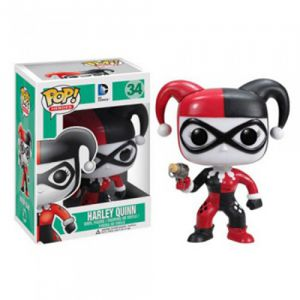 Dessins animés  Harley Quinn - DC Comics (10cm) - Funko POP!