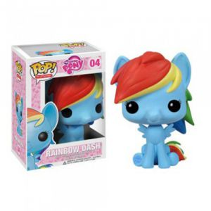 Dessins animés  Rainbow Dash - My Little Pony (10cm) - Funko POP!