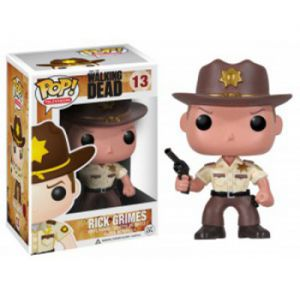 Series TV  Sheriff Rick Grimes - The Walking Dead (10cm) - Funko POP!