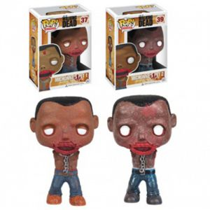 Series TV  Michonne's Pet Walkers - The Walking Dead (10cm) - Funko POP!