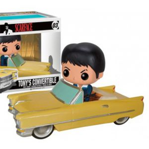 Films  Tony Montana in Cadillac - Scarface (20cm de long/ 10cm de haut) - Funko POP!