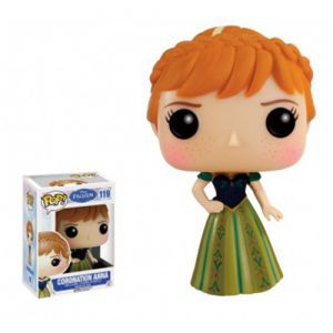 Dessins animés  Coronation Anna - Disney Frozen (10cm) - Funko POP!