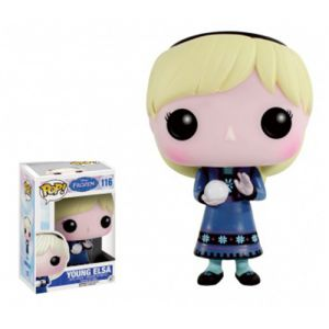 Dessins animés Young Elsa - Disney Frozen (10cm) - Funko POP!