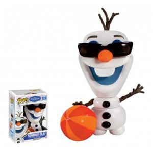 Dessins animés Summer Olaf - Disney Frozen (10cm) - Funko POP!