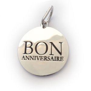Mani Accessoires  Charms L - Bon Anniversaire