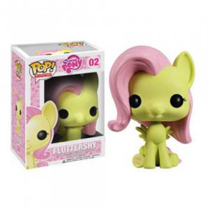 Dessins animés  Fluttershy - My Little Pony (10cm) - Funko POP