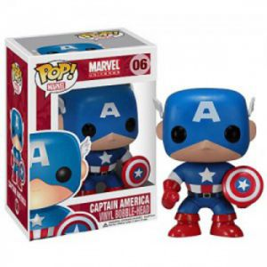 Films  Captain America - Marvel (10cm) - Funko POP!