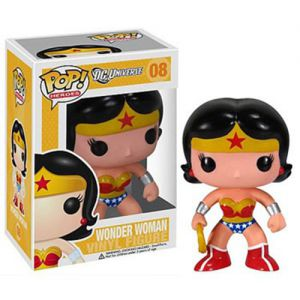 Dessins animés Wonder Woman - DC Universe (10cm) - Funko POP!